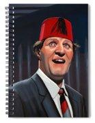 Tommy Cooper Spiral Notebook