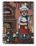 Tommys Italian Kitchen Spiral Notebook