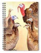 Tom's Parade Spiral Notebook