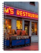 Tom's Restaurant Spiral Notebook