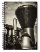 Toned Whistles And Bells Spiral Notebook