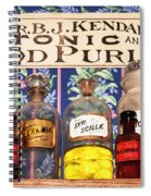Tonic And Blood Purifier Spiral Notebook