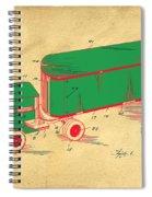 Tonka Truck Patent Spiral Notebook