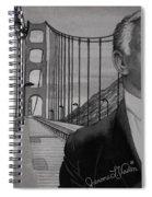 Tony Bennett Spiral Notebook