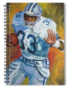 Tony Dorsett - Dallas Cowboys  Spiral Notebook