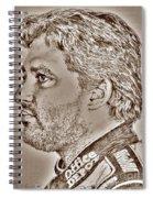 Tony Stewart In 2011 Spiral Notebook