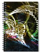 Too Long In A Dark Cave  Spiral Notebook