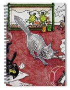 Too Many Pets Spiral Notebook