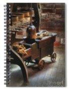 Tool Cart Spiral Notebook