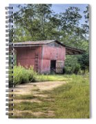 Tool Shed Out Back Spiral Notebook