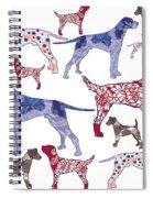 Top Dogs Spiral Notebook