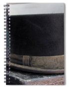 Top Hat Spiral Notebook