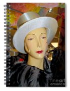 Top Hat Tallulah Spiral Notebook