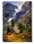 Top Of Cascade Pass Spiral Notebook
