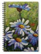 Top Of The Bunch Daisies By Prankearts Spiral Notebook