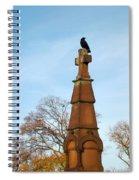 Top Of The Cross Spiral Notebook