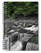 Top Of The Falls Spiral Notebook