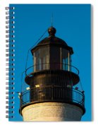 Top Of The Key West Lighthouse  Spiral Notebook
