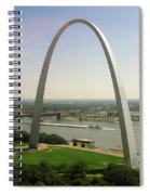 Top Of The Riverfront Spiral Notebook