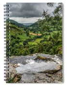 Top Of The Waterfall Spiral Notebook
