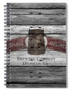 Toppling Goliath Spiral Notebook