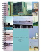 Topsail Island Images From The Past Spiral Notebook