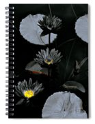 Torchlight Water Flowers Spiral Notebook