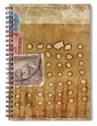 Torn And Burned Spiral Notebook
