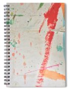 Torn To Red Line  Spiral Notebook