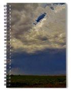Tornado Warned Denver Supercell Spiral Notebook
