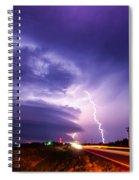 Tornado Warning In Northern Buffalo County Spiral Notebook