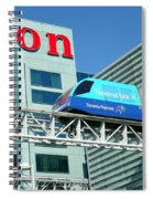 Toronto Airport Shuttle Spiral Notebook