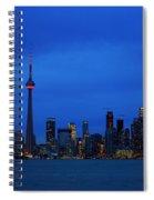 Toronto Blues... Spiral Notebook