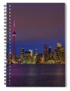 Toronto By Night... Spiral Notebook