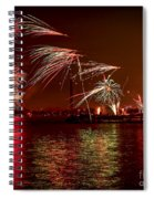 Toronto Fireworks Spiral Notebook