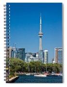 Toronto Harbour Spiral Notebook