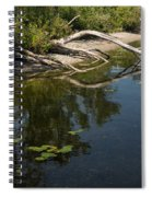 Toronto Islands Slow Cruising   Spiral Notebook