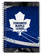 Toronto Maple Leafs Christmas Spiral Notebook