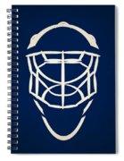 Toronto Maple Leafs Goalie Mask Spiral Notebook