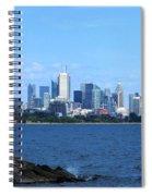 Toronto Ontario Canada Skyline Spiral Notebook