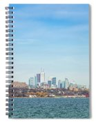 Toronto Skylines At The Waterfront Spiral Notebook