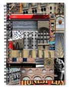 Toronto Textures 1 Spiral Notebook