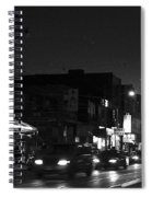 Toronto's China Town After Sunset Spiral Notebook
