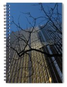 Toronto's Golden Bank - Royal Bank Plaza Downtown Spiral Notebook