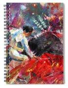 Toroscape 11 Spiral Notebook