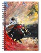 Toroscape 46 Spiral Notebook