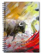 Toroscape 50 Spiral Notebook