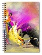 Toroscape 52 Bis Spiral Notebook