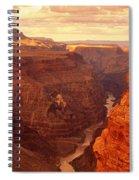 Toroweap Point, Grand Canyon, Arizona Spiral Notebook