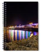 Torquay Lights Spiral Notebook